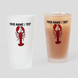 Custom Red Lobster Drinking Glass