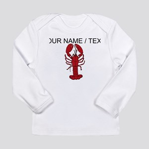 Custom Red Lobster Long Sleeve T-Shirt