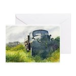 Classic Truck Greeting Cards