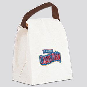 The Incredible Christian Canvas Lunch Bag