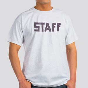 STAFF in duct tape font Light T-Shirt
