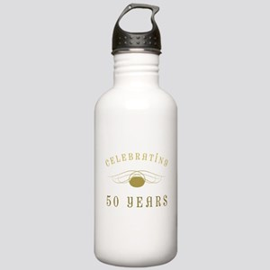 Celebrating 50 Years Of Marriage Stainless Water B