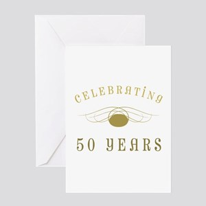Celebrating 50 Years Of Marriage Greeting Card
