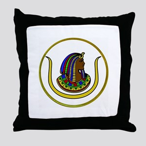 Daughters of Isis Throw Pillow