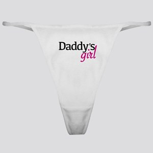 Daddys Girl Classic Thong