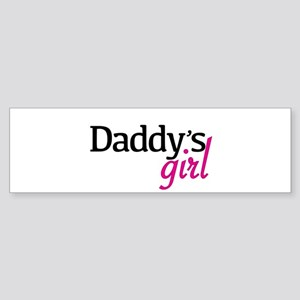Daddys Girl Bumper Sticker