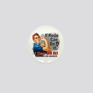 If Rosie Can Do It Skin Cancer Mini Button
