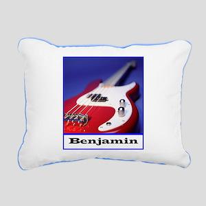 Snuggle with Benjamin Rectangular Canvas Pillow
