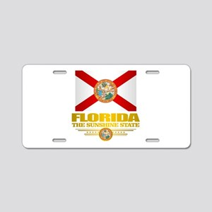 Florida Pride Aluminum License Plate