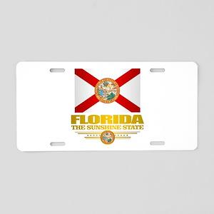 Florida Pride Aluminum License Plate