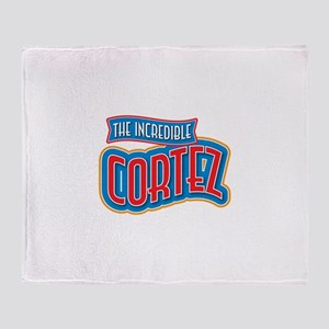 The Incredible Cortez Throw Blanket