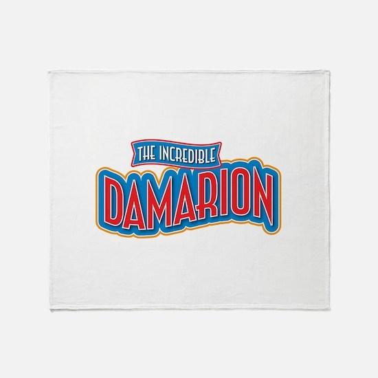 The Incredible Damarion Throw Blanket