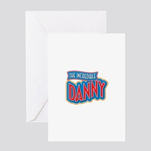 The Incredible Danny Greeting Card