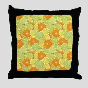 Citrus Benefits Throw Pillow