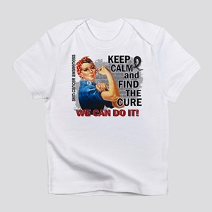 Rosie Keep Calm Skin Cancer Infant T-Shirt