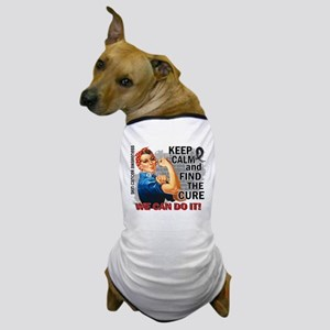 Rosie Keep Calm Skin Cancer Dog T-Shirt
