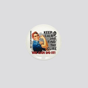 Rosie Keep Calm Skin Cancer Mini Button