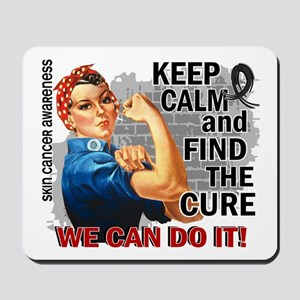 Rosie Keep Calm Skin Cancer Mousepad