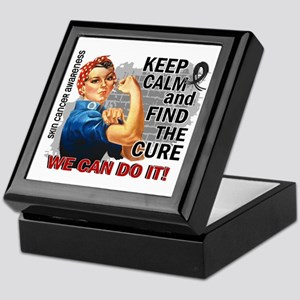 Rosie Keep Calm Skin Cancer Keepsake Box