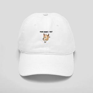 Custom Cartoon Goat Head Baseball Cap