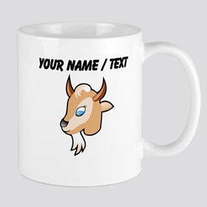 Custom Cartoon Goat Head Mug