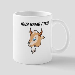Custom Cartoon Goat Head Mug
