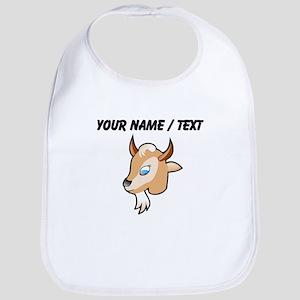 Custom Cartoon Goat Head Bib