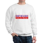 Don't Be a Dick Vote for Weiner Sweatshirt