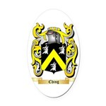 Ching Oval Car Magnet