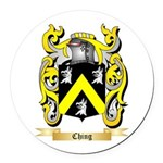 Ching Round Car Magnet