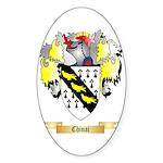 Chinai Sticker (Oval 50 pk)