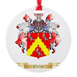 Chiles Round Ornament