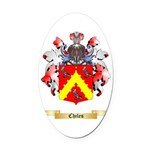 Chiles Oval Car Magnet