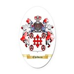 Childers Oval Car Magnet