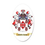 Childerhouse Oval Car Magnet