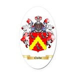 Childe Oval Car Magnet