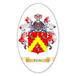 Childe Sticker (Oval)