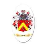 Childe 35x21 Oval Wall Decal