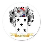 Chilcotte Round Car Magnet