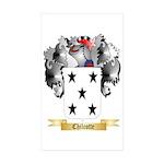 Chilcotte Sticker (Rectangle 50 pk)