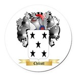 Chilcott Round Car Magnet
