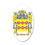 Chieze 20x12 Oval Wall Decal