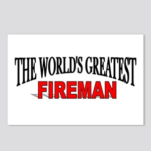 """The World's Greatest Fireman"" Postcards (Package"