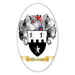 Chiesman Sticker (Oval 10 pk)