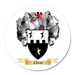 Chiese Round Car Magnet