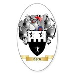 Chiese Sticker (Oval 50 pk)