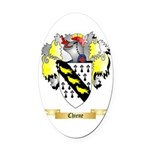 Chiene Oval Car Magnet