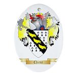 Chiene Ornament (Oval)