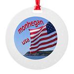 Monhegan Round Ornament