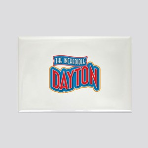 The Incredible Dayton Rectangle Magnet